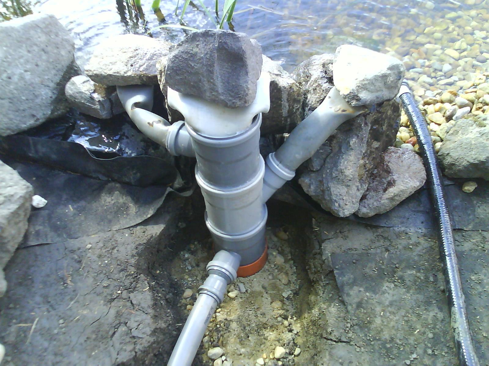 Egyszerű csobogó, mini vizesés készítése házilag  Kerti Tó